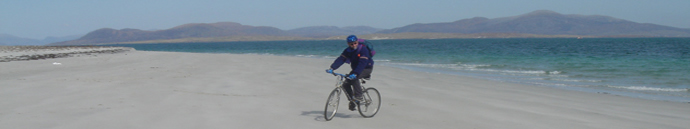 Cycling on Berneray
